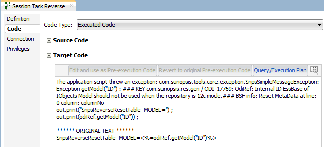 Really using ODI 12c for Data Integration with Oracle Hyperion Planning/Essbase (4/6)