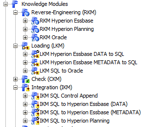 Really using ODI 12c for Data Integration with Oracle Hyperion Planning/Essbase (2/6)
