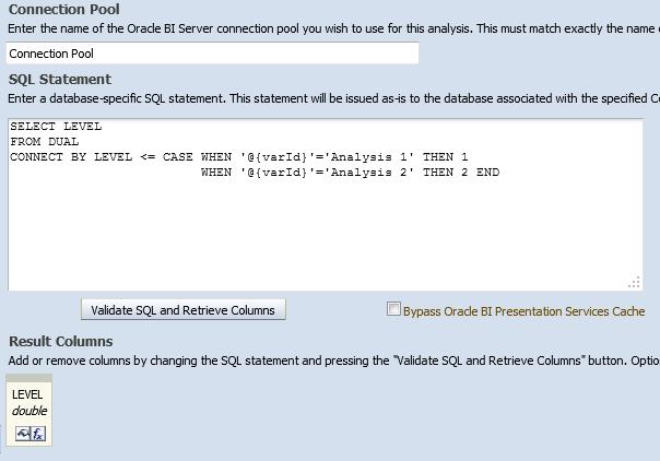 Direct Database sql