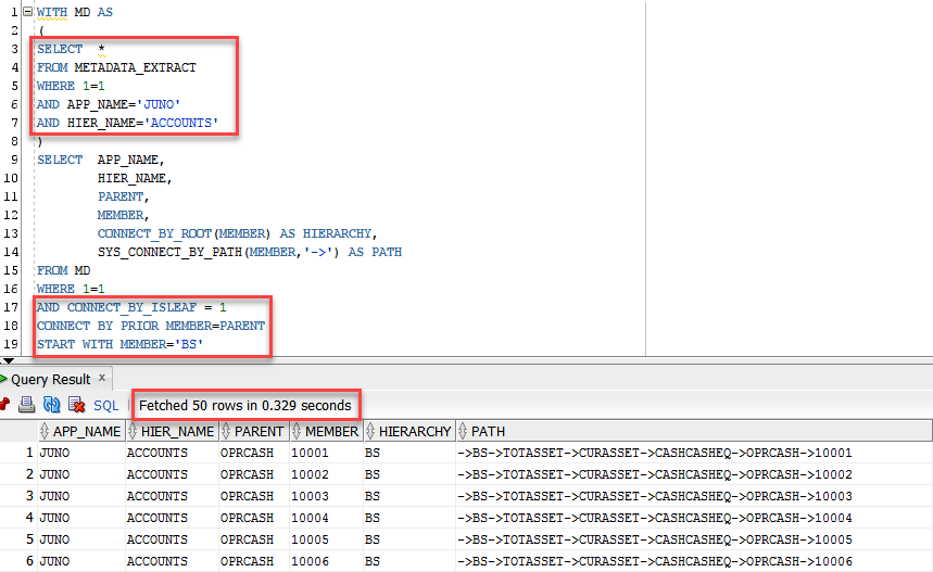SQL | DEV EPM